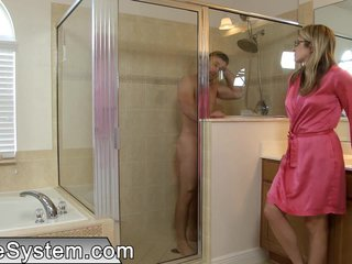 Horny daughter seducing her stepdad